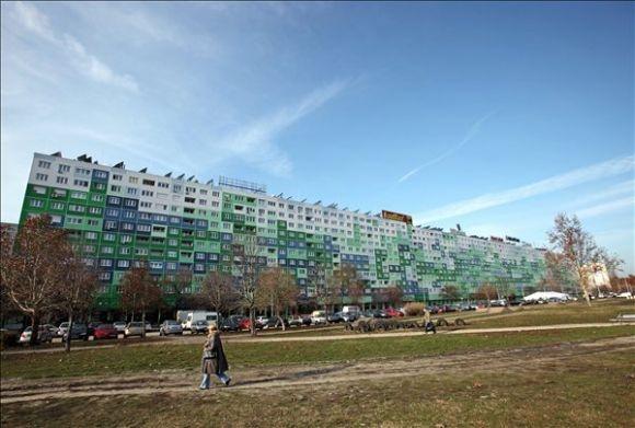 Faluház - Il condominio piú largo di Ungheria