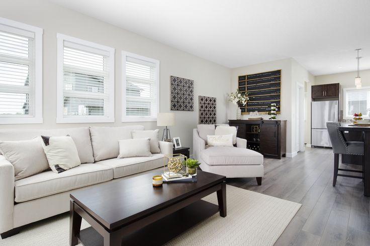 Open main floor layout #livingroom #familyroom #greatroom