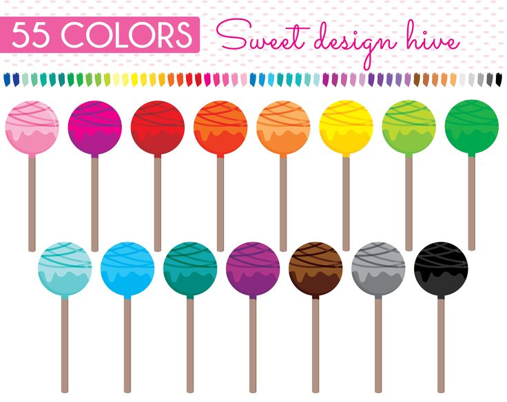 Cake pops clipart, Cake sticks clipart, Cake balls clipart, Party sweets, Planner Stickers, Commercial Use, PL0122 by Sweetdesignhive on Etsy