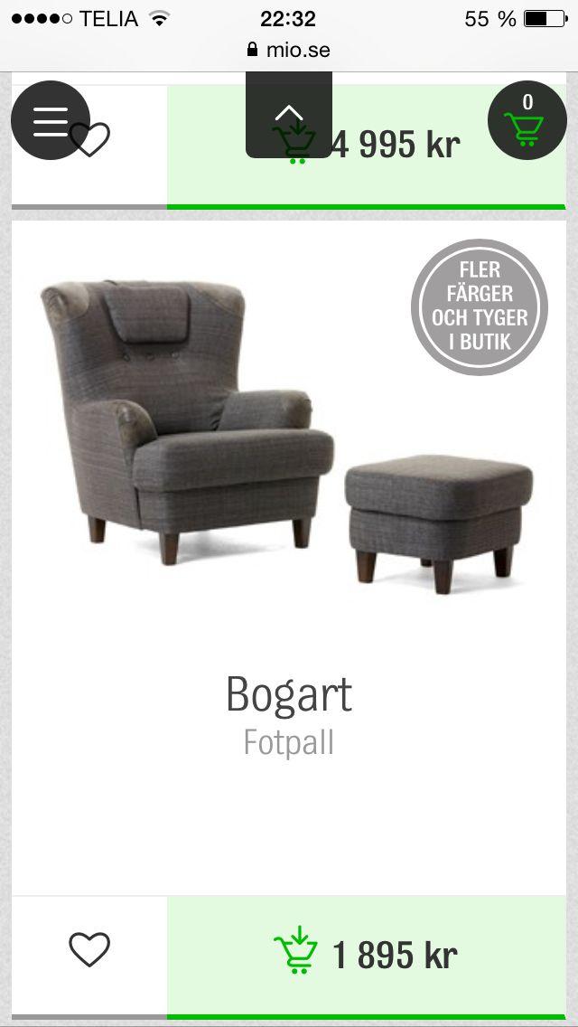 Bogart fåtölj