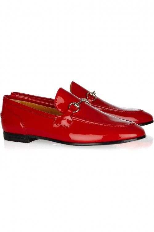 Gucci Patent-leather loafers 1