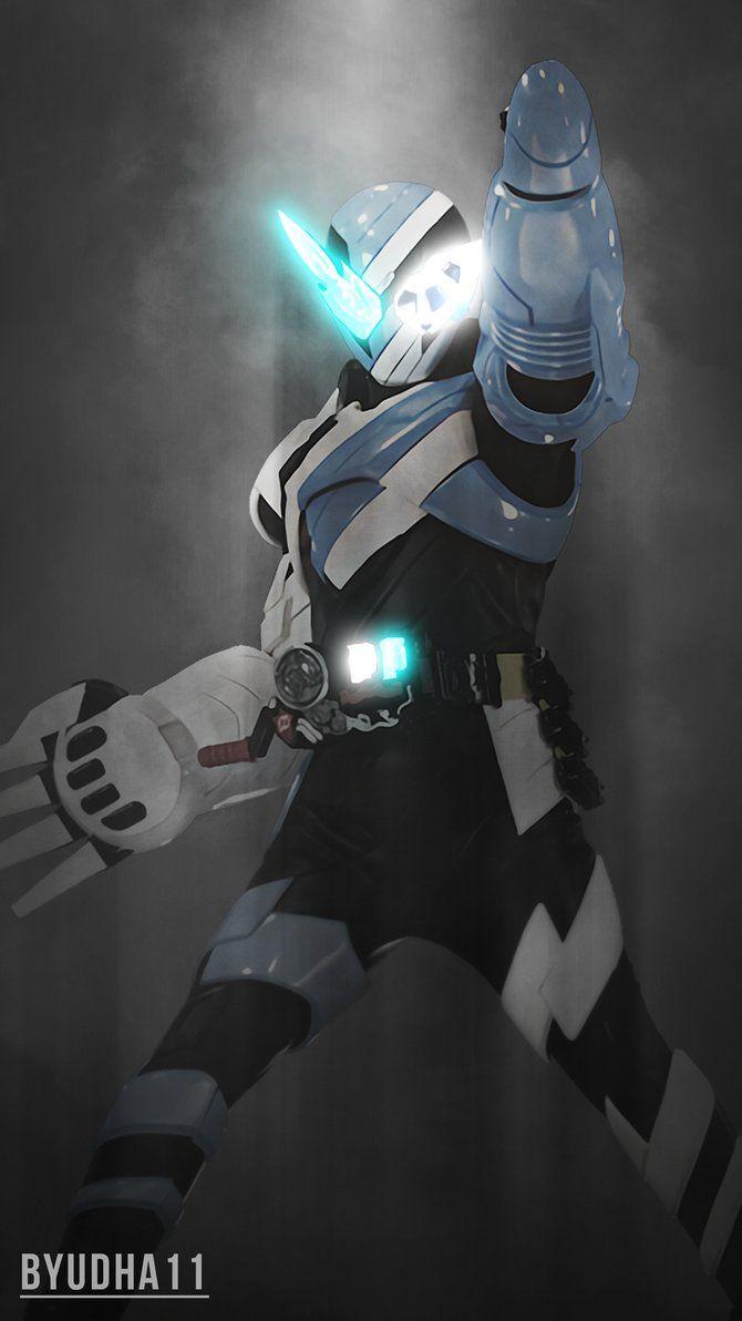 Kamen Rider Build : Rocket Panda Wallpaper by Byudha11