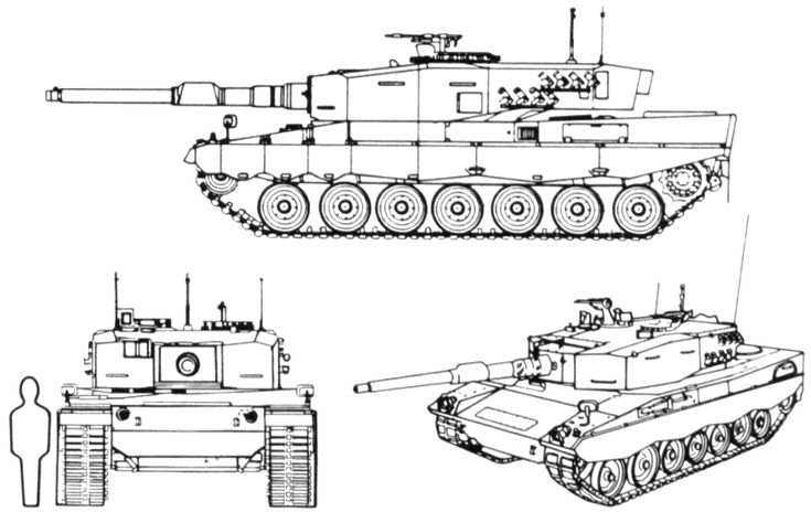 Leopard 2 Main Battle Tank (Germany)