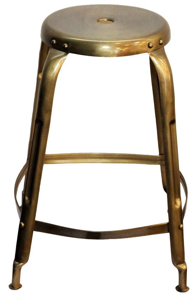 Iron Bronze Stool
