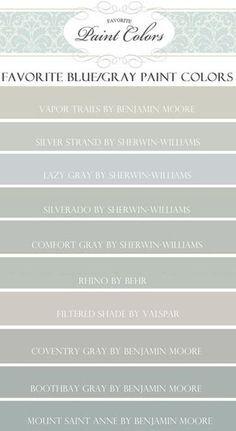 """Paint Colors featured on HGTV show """"Fixer Upper""""   Favorite Paint Colors   Bloglovin'"""