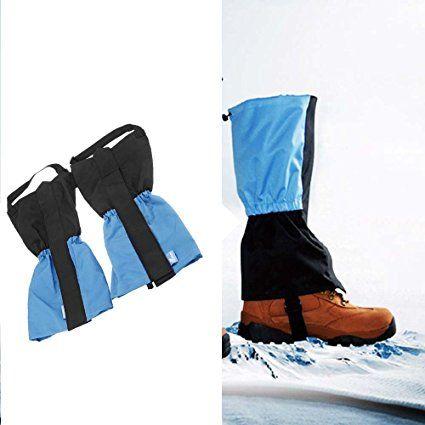 EverTrust (TM) UK Outdoor impermeabile antivento invernale ghette Leg Protection Guard per escursionismo, campeggio arrampicata Sci