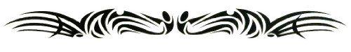 "Detailed Tribal Lower Back or Armband Temporary Body Art Tattoos 1"" x 6"" TMI http://www.amazon.com/dp/B008PID7W2/ref=cm_sw_r_pi_dp_m6abwb0AYYCRQ"