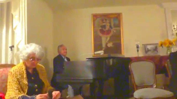 مهوش گرامی و انوشیروان روحانی Dec 25, 2013 Mahvash Gerami and Anoushiravan Rohani