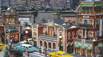 Dave's UVP - Christmas in the City - Department 56