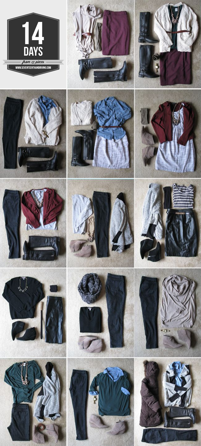 "The actual link is ""How to Pack Two Weeks In A Carry-On Suitcase"" but I love her style."