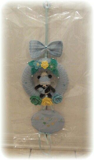 bow baby cross stitch