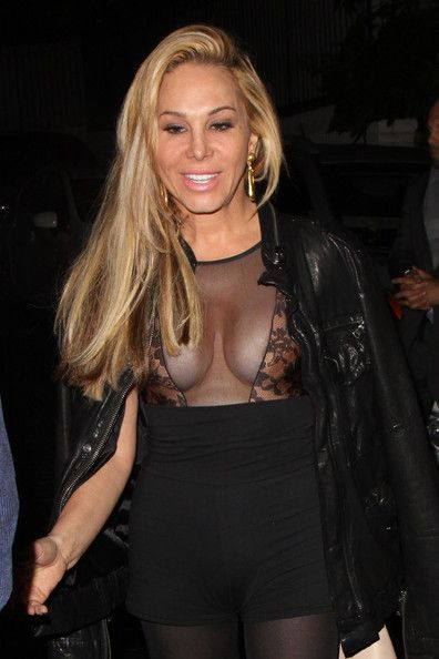 Adrienne Maloof Photos: Adrienne Maloof Leaves Chateau Marmont