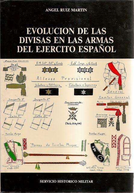 MINIATURAS MILITARES POR ALFONS CÀNOVAS: EVOLUCION DE LAS DIVISAS ( Nº 1 ) EN EL EJERCITO E...