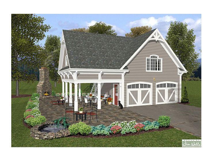 Garage loft plan 007g 0004 house hobby farm for Hobby farm plans