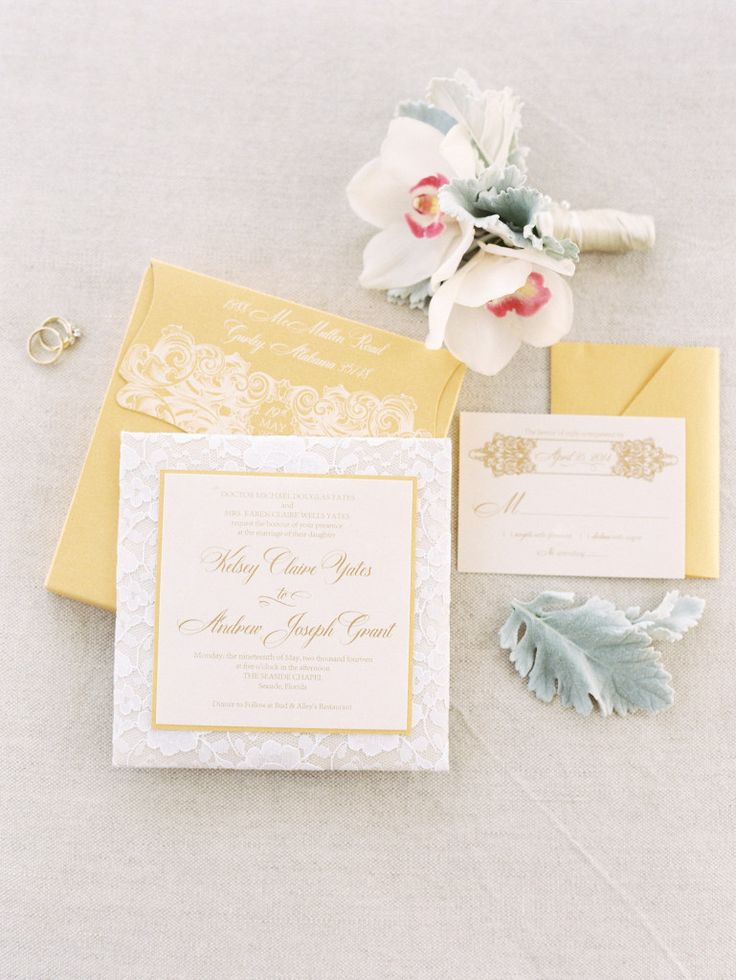 box wedding invitations online%0A    gold lace wedding invitations