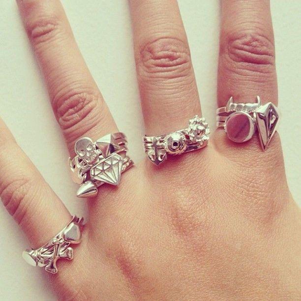 Can never have too many rings! Meadowlark stacking rings from $99 x