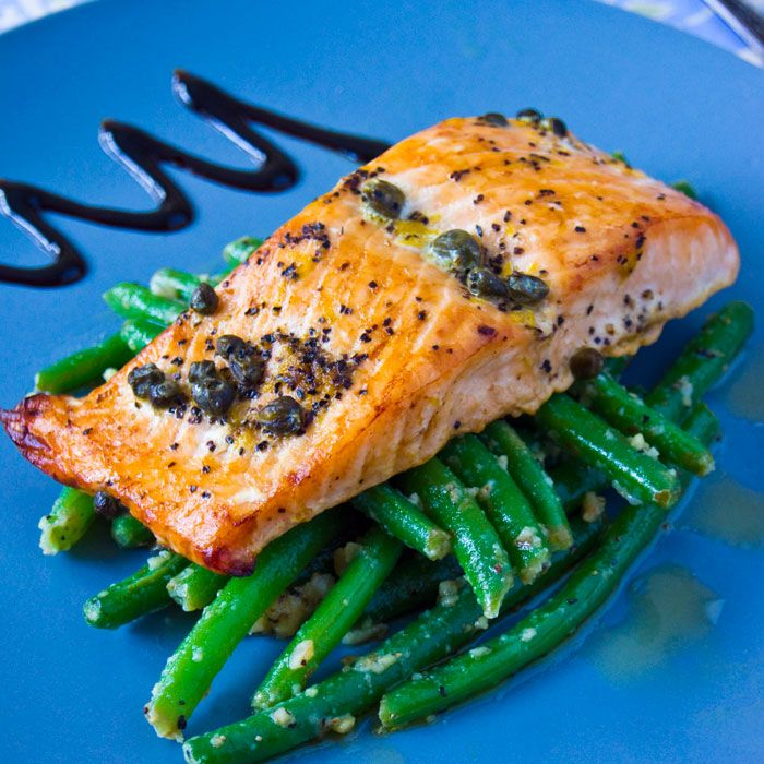 Pistachio-Encrusted Salmon With Edamame Mash Recipe — Dishmaps