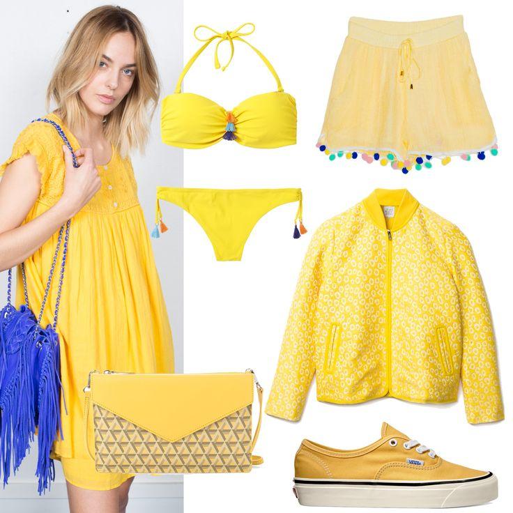 Le jaune, sélection shopping