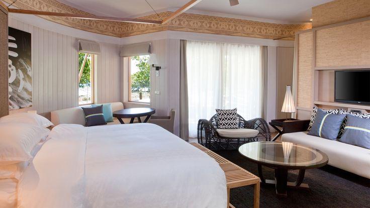 Sheraton New Caledonia Deva Spa and Golf Resort - bungalow bedroom