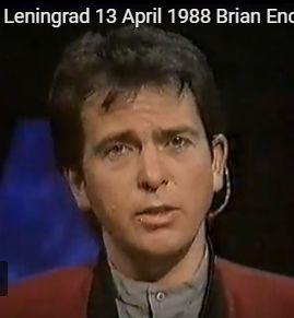 #NowPlaying 13 Apr.: Peter Gabriel at Opal-Link Leningrad, 1988 – VIDEO