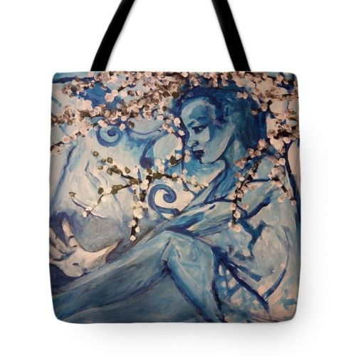 Tote-Bag-All-over-print-Black-Angel-Fairy-art-painting-by-Shfeeq-Muhammad