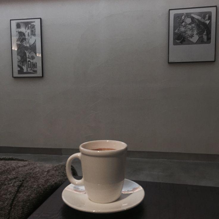 Korea, seoul, cafe, kafe, coffee, works 중앙대학교 커피 맛집 ☕️