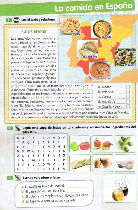 La comida en España