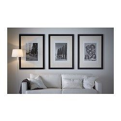 fj llsta frame 70x100 cm ikea house displaying frames photos art pinterest. Black Bedroom Furniture Sets. Home Design Ideas