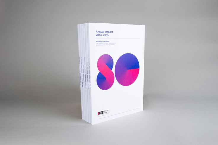 A not so reserved annual report | RBNZ on Behance