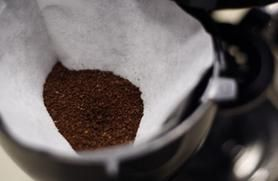 5 Uses for Coffee Grounds - Ant Control  It's that time of year: Ant season. If you have an ant problem, sprinkle coffee grounds near doorways. How does it work? The nitrogen burns the ants' legs so they won't walk cross it. Some people cover ant holes with grounds, but I'm a little too softhearted for that.