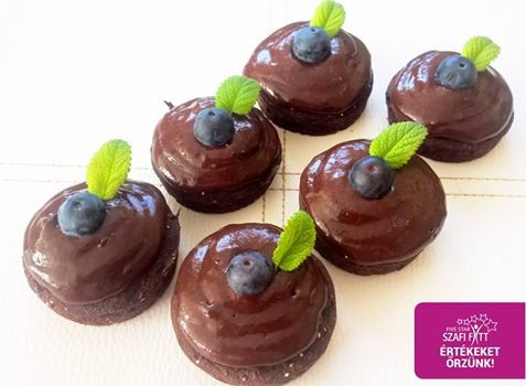 Gluténmentes kalóriaszegény paleo-vegán chia maglisztes muffin