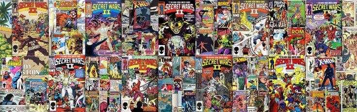 Marvel Secret Wars 2  3360 x 1050