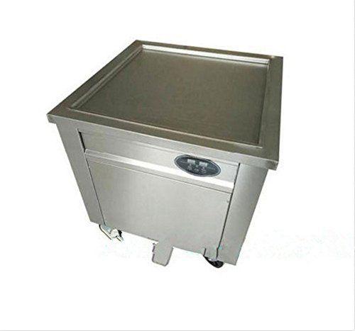 JIAWANSHUN fried ice cream machine ice cream roll making machine 60cm pan size 110V 2100W