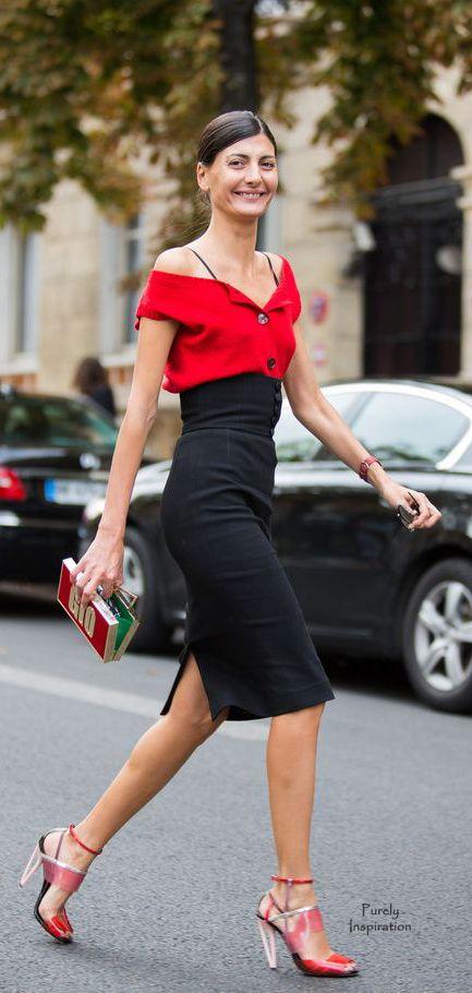 Giovanna Battaglia, Glamour Paris Blog | Pure Inspiration