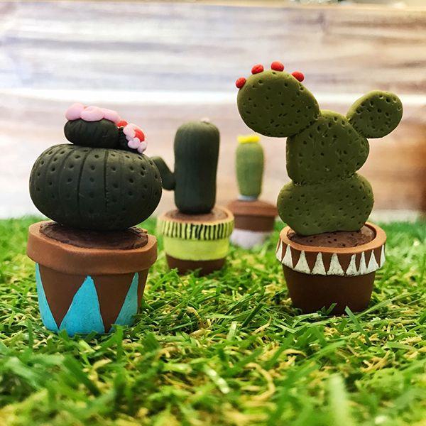 Fimo Mini Cactus