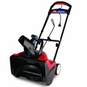 Ideal for residential use, the Toro 1800 Electric Power Curve snow blower is small in stature, but packs plenty of muscle to snow from driveways and walkways. Its deep-cutting blades and powerful electric motor move snow out of the way, while the adjustable chute puts that snow right where you want it.