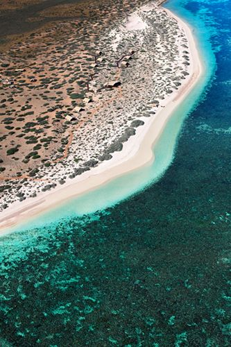 Ningaloo Reef, Australia While the Great Barrier Reef gets all the attention, Australia has another awe-inspiring destination worth the hou...