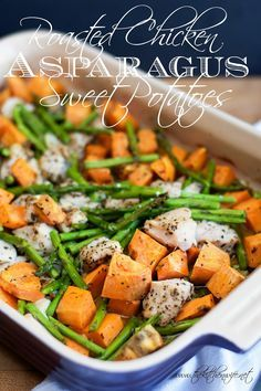 Roasted-Chicken-with-Asparagus-and-Sweet-Potato-Recipe