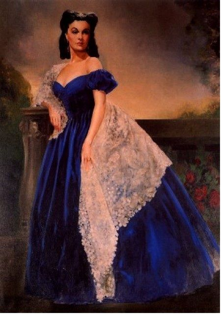 Gone with the wind scarlett 39 s portrait scarlet o 39 hara for Who played scarlett o hara in gone with the wind