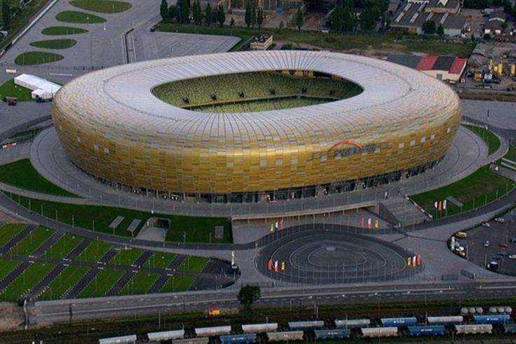 Estadio Municipal de Gdansk (40.000 espectadores) - Ingrid Irribarren.
