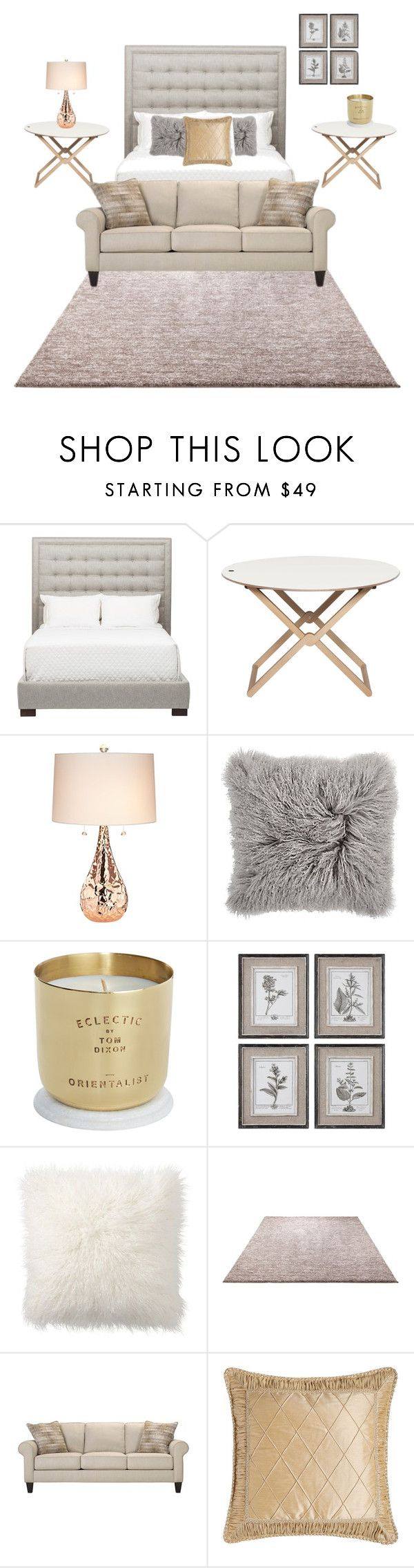 Grey / Gold / white by giselleibnz on Polyvore featuring the Nason Collection.