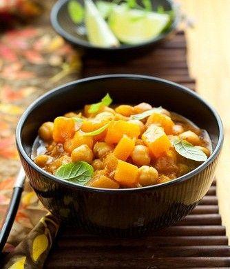 Тыквенный карри с нутом и цукини рецепт – индийская кухня, вегетарианская еда: основные блюда. «Афиша-Еда»