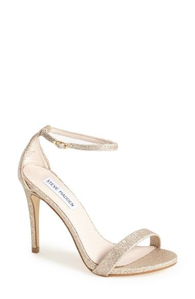 Steve Madden 'Stecy' Sandal   Nordstrom - comes in several colors that could work for the bridesmaids? @caseyyy919