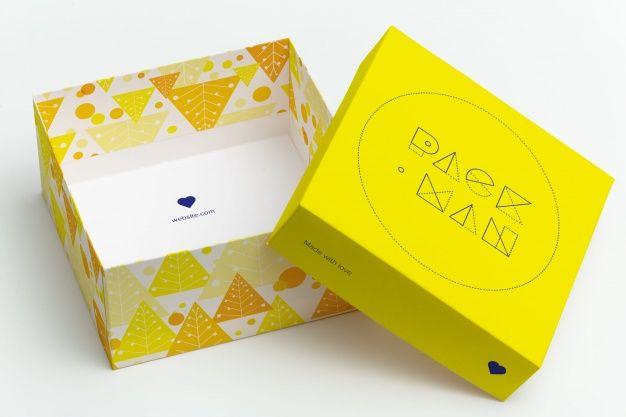 Download Gift Box Mock Up Design In 2020 Big Gift Boxes Box Mockup Big Gifts