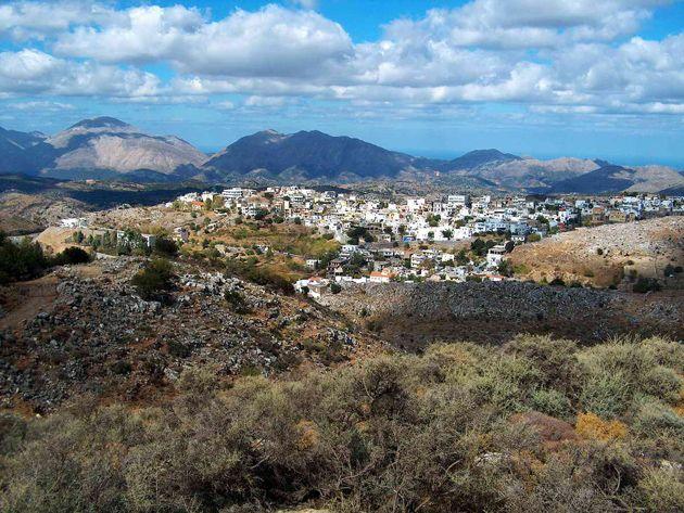 Anogia Village , Crete Greece