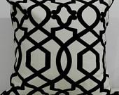 New 18x18 inch Designer Handmade Pillow Cases. in retro, graphic pattern.. $20.00, via Etsy.