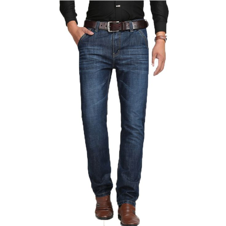 2017 New Plus size 29-42 Silm Jeans Mens Larger Size Ripped Jeans Men Famous Brand Casual Black Pantalon Jean Hombre 56wy #Affiliate