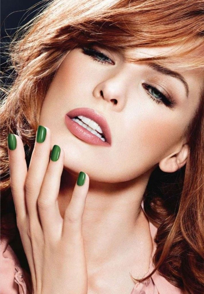 i love the gemma by zoya! Your red hair is looking flawless. Makeup is complete. Did you forget about your nails? Choose a color that will express your redhead personality. We chose six 'Redhead Friendly' options for your