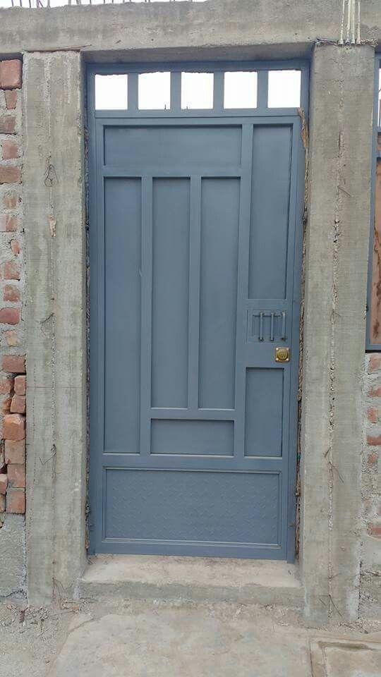 M s de 25 ideas incre bles sobre puertas metalicas for Puertas metalicas para exteriores