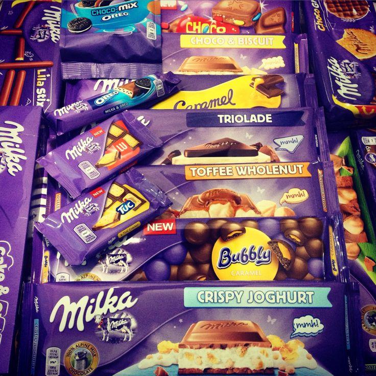 #milka#bubbly#caramel #biscuit #jelly #crispy#yoghurt #hazelnut #milk #toffee #wholenut #triolade #crispello #chocolate #vanilla #oreo #lu#tuc #cake #moo#twist #wafer#lila #stix #imports #europe #Poland #warehouse #lebanon#foodporn